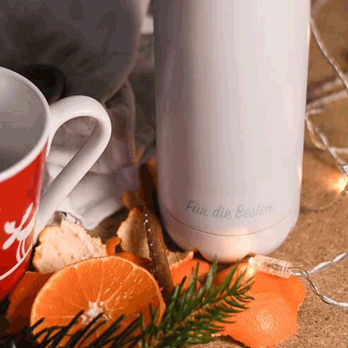 FLSK Edelstahltrinkflasche mit gratis Gravur bestellen