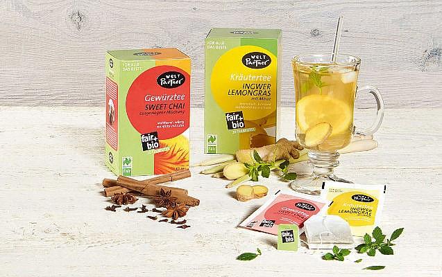 dwp die WeltPartner fairer Tee Gutschein gewinnen faire Produkte Geschenkideen nachhaltig