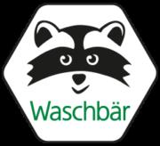 Waschbär Onlineshop Logo