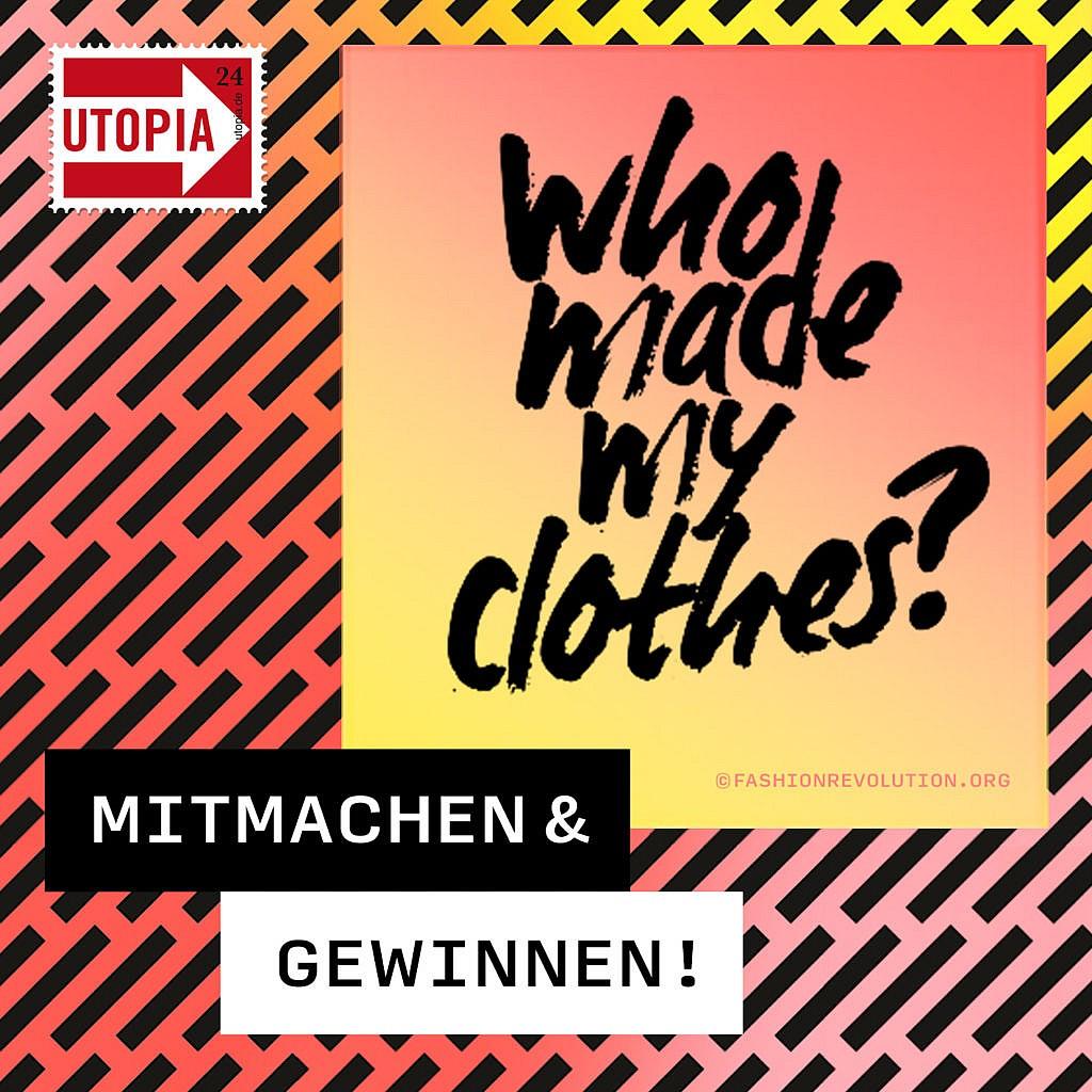 Fashion Revolution Gewinnspiel - faire Mode, nachhaltige Mode gewinnen