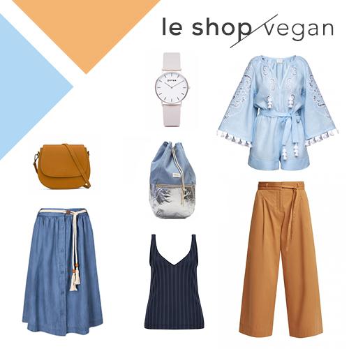 Fashion Revolution Gewinnspiel le shop vegan faire mode, nachhaltige mode