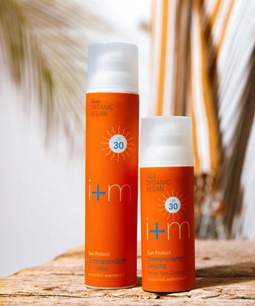 i+m bio-Sonnencreme nachhaltiger sonnenschutz geschenk