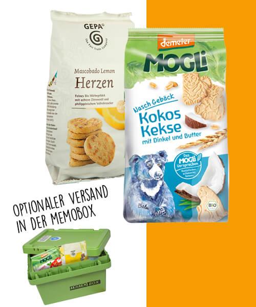 memolife gutschein nachhaltig einkaufen bio kekse