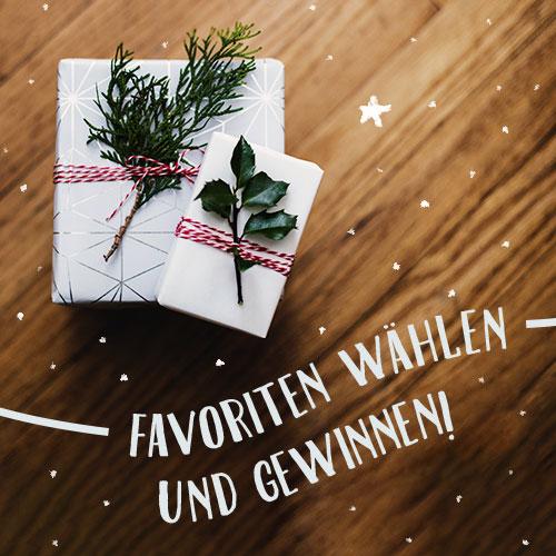 Utopia Weihachts-Geschenk-Ideen Geschenke gewinnen