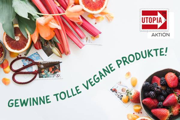 Utopia Vegan Wochen Aktion vegane Produkte gewinnen Fastenzeit
