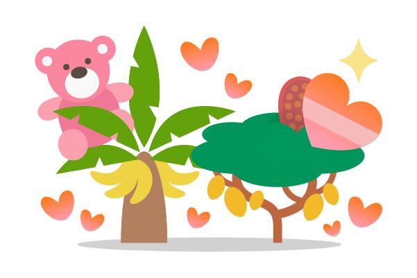 Treedom Valentinstag Geschenkidee mit Rabatt Bäume pflanzen Liebe