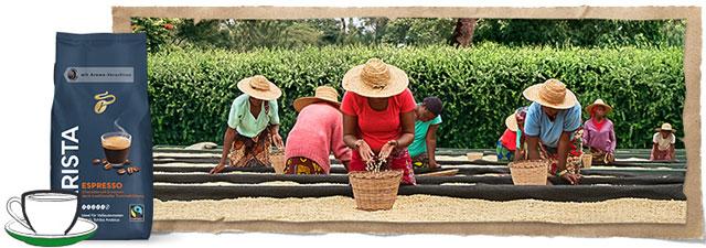 Tchibo Fairtrade Kaffee