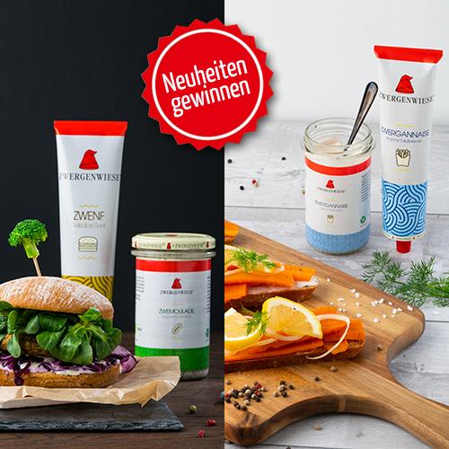 Utopia Vegan Wochen Aktion vegane Gourmet Produkte gewinnen Fastenzeit Zwergenwiese