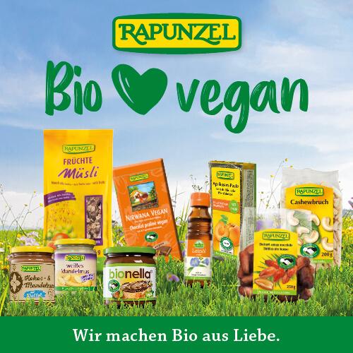 Utopia Vegan Wochen Aktion vegane Bio Produkte gewinnen Fastenzeit Rapunzel