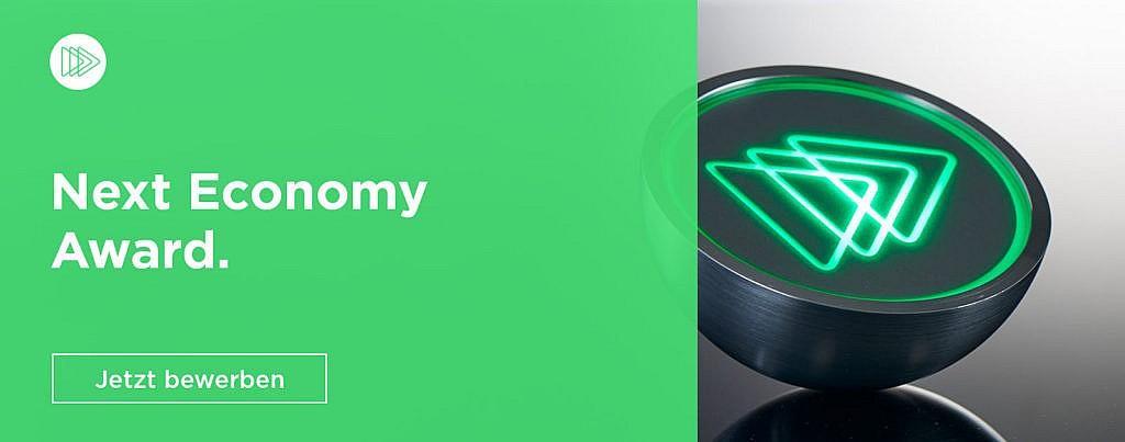 next economy award nachhaltige start-ups gründer bewerben