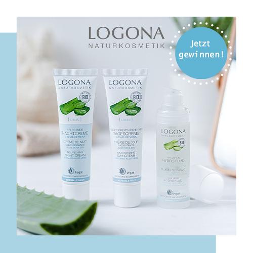 LOGONA jetzt Produktsets gewinnen Hydro Fluid
