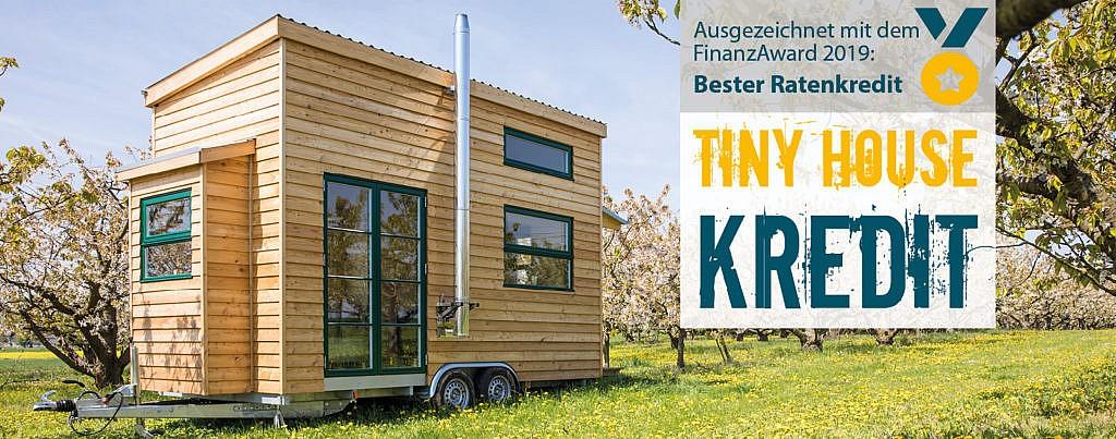 Tiny House finanzieren EthikBank 100€ geschenkt