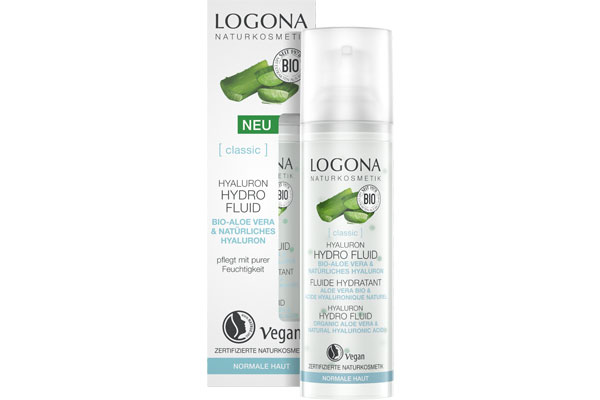 Bio Naturkosmetik gewinnen Logona Hyaluron Hydro Fluid Produktset