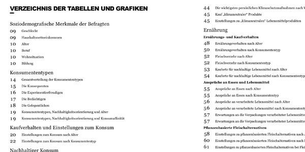 Utopia Studie 2020 Berichtsband Verzeichnis