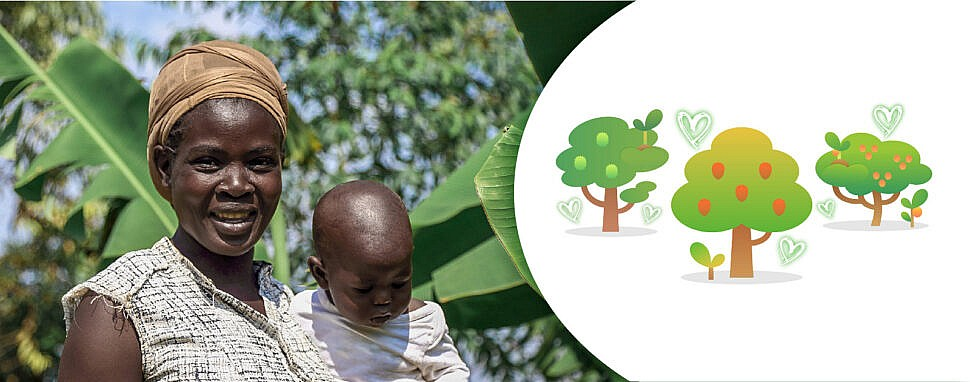 Treedom Muttertag Baum schenken Rabattcode