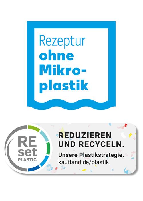 Kaufland Rezeptur Ohne Mikroplastik vermeiden REset Plastic