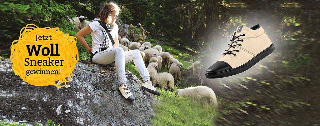 Sneaker gewinnen waschbär umweltversand gewinnspiel