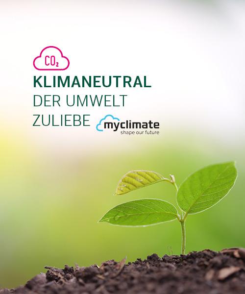 myclimate klimaneutral Produkte naturata bio produkte