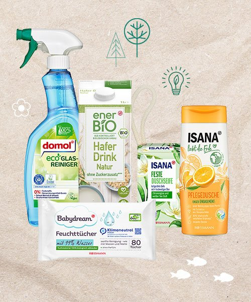 Rossmann Gewinnspiel nachhaltige Produktbox gewinnen