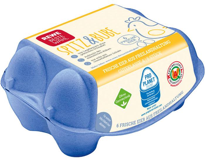Spitz & Bube REWE respeggt Eier ohne Kükentöten