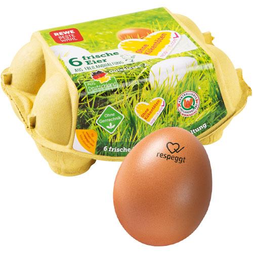 respeggt Eier REWE seleggt Verfahren mehr Tierwohl