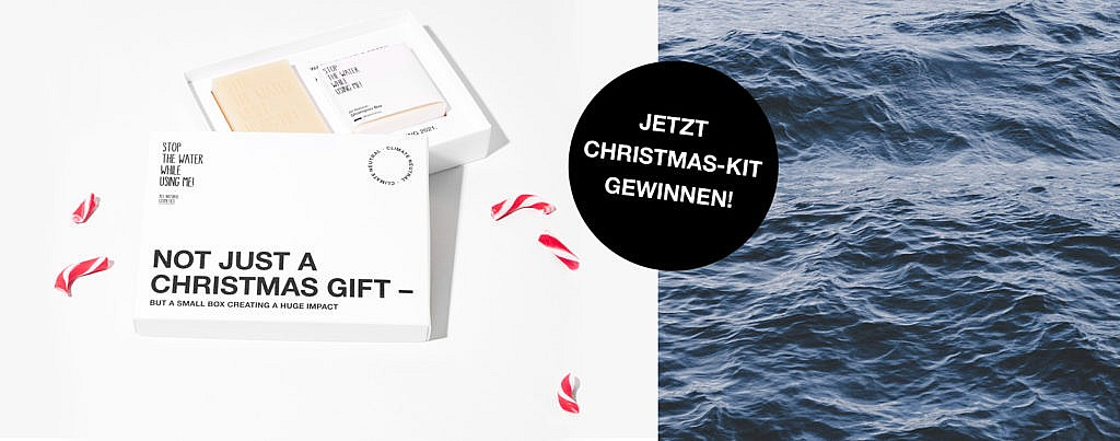 STOP THE WATER WHILE USING ME! Christmas-Kit gewinnen