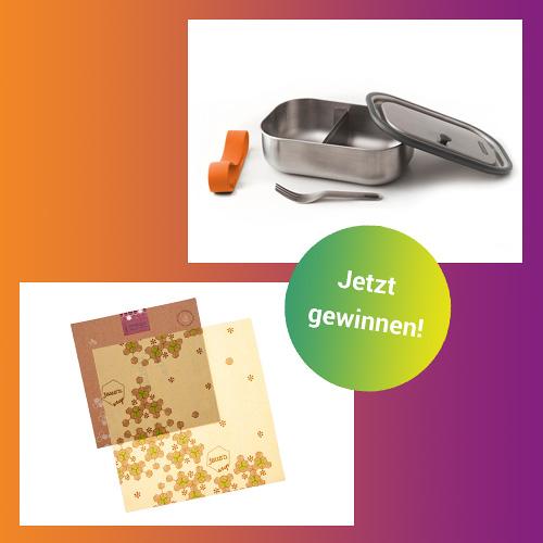 Gewinne ein Brotbox-Set mit Snack 5 für eine ausgewogene Ernährung!