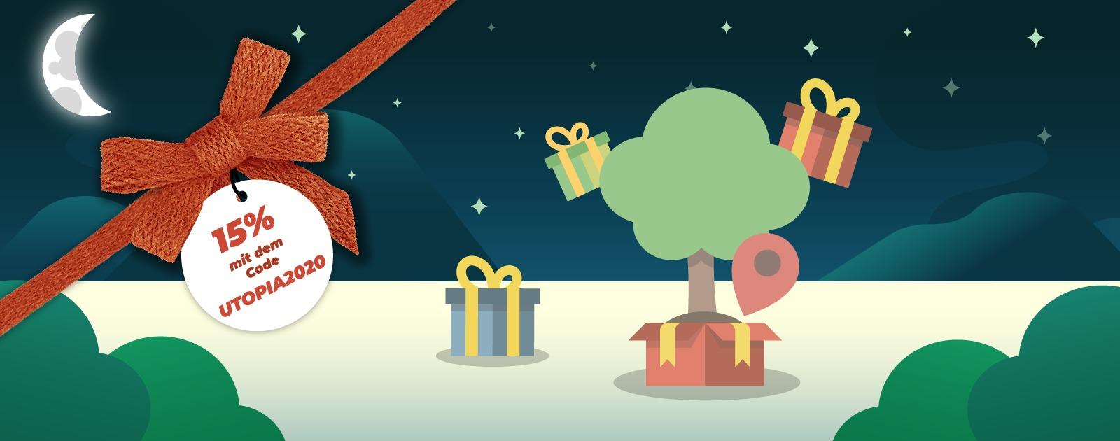 treedom baum pflanzen, sinnvolles weihnachtsgeschenk, rabatt sichern