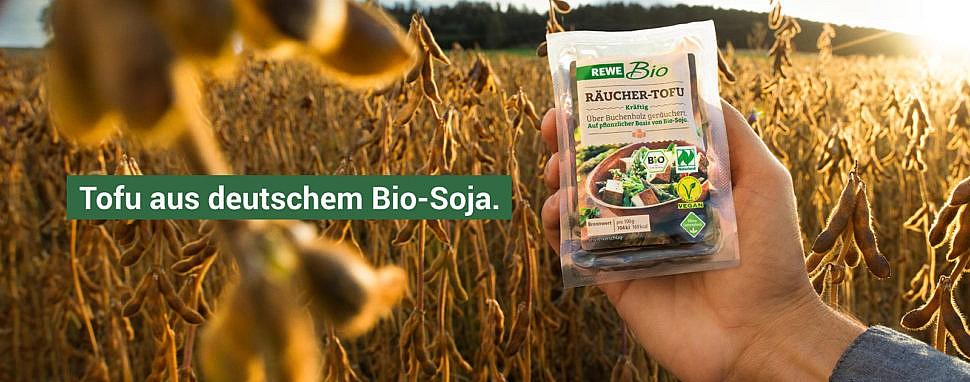 REWE Bio-Soja aus Deutschland nachhaltiger Tofu