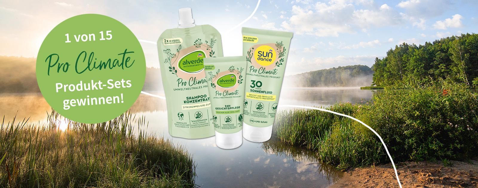 dm umweltneutrale Produkte gewinnen