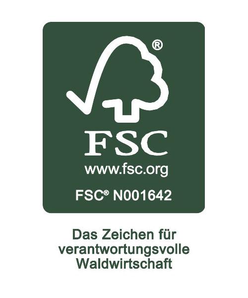 OTTO FSC Siegel verantwortungsvolle Waldwirtschaft