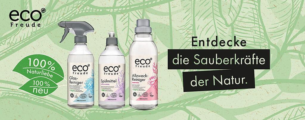 Produkttest Rossmann eco Freude Serie