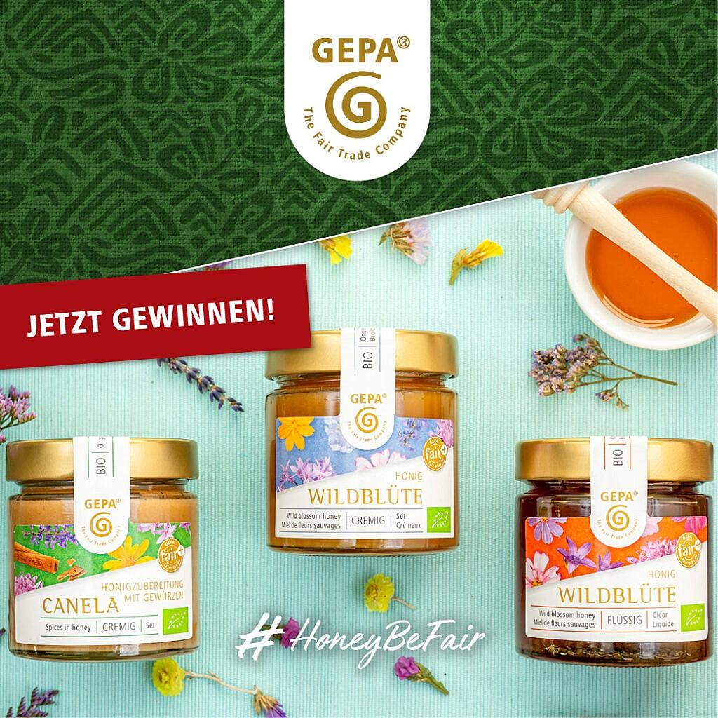 GEPA Honig Bundle und 10 € Gutschein gewinnen