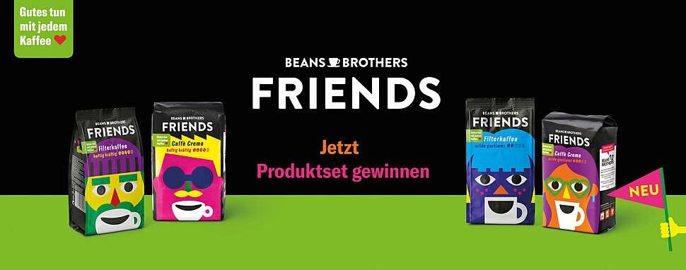 Tchibo Beans Brothers Gewinnspiel