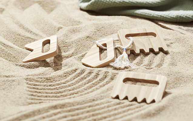 Tchibo Kinder Sandkämme
