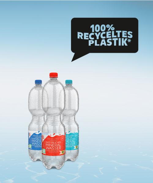 Kaufland gegen Plastikmüll Recycling Flaschen Wasserflaschen