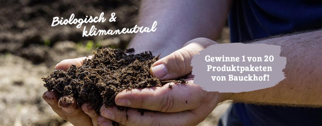 Bauckhof Header Biologisch und klimaneutral