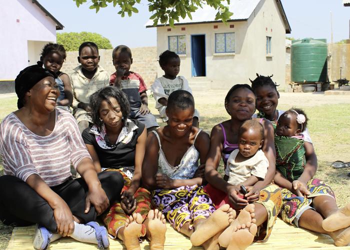iplusm soziale projekte in sambia frauenhaus